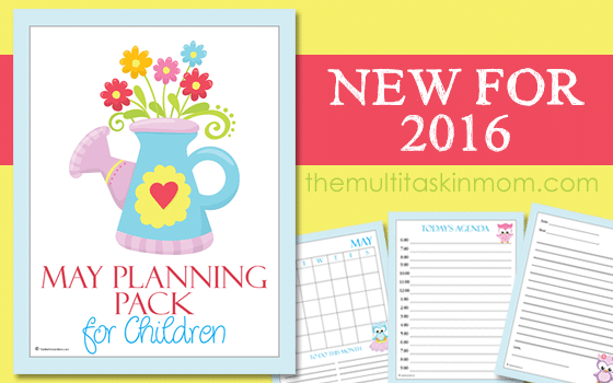 May Planning Pack for Children