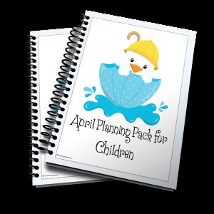 April Planning Pack Spring