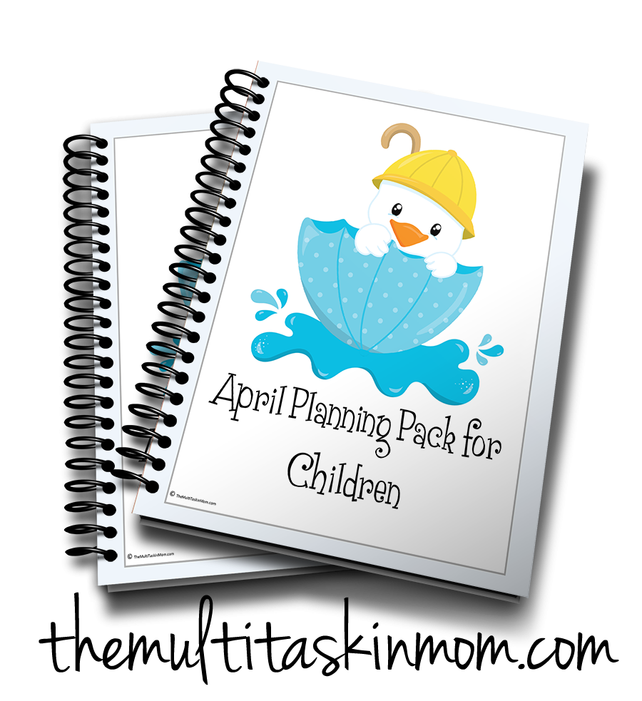 April Planning Pack for Children 2016