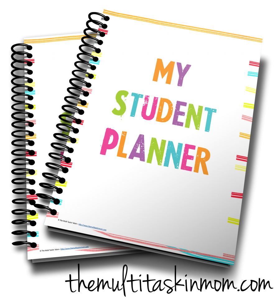 Colorful Student Planner