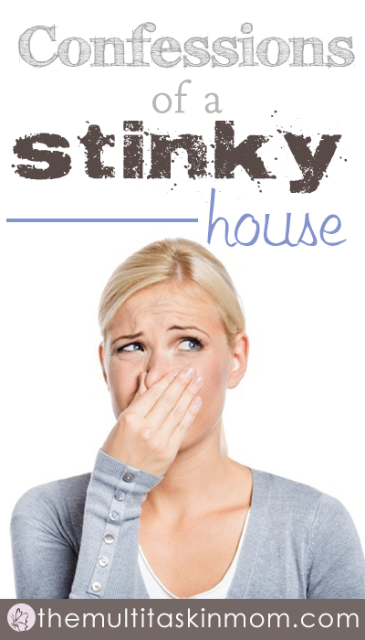Confessions of a stinky house and what I do about it