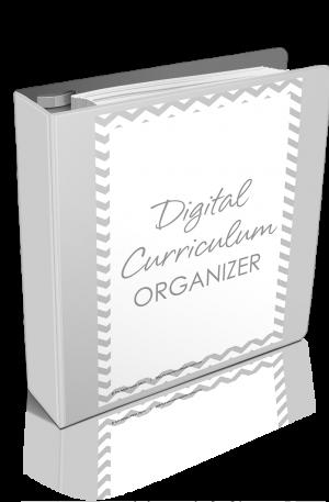 Digital Curriculum Organizer Updated