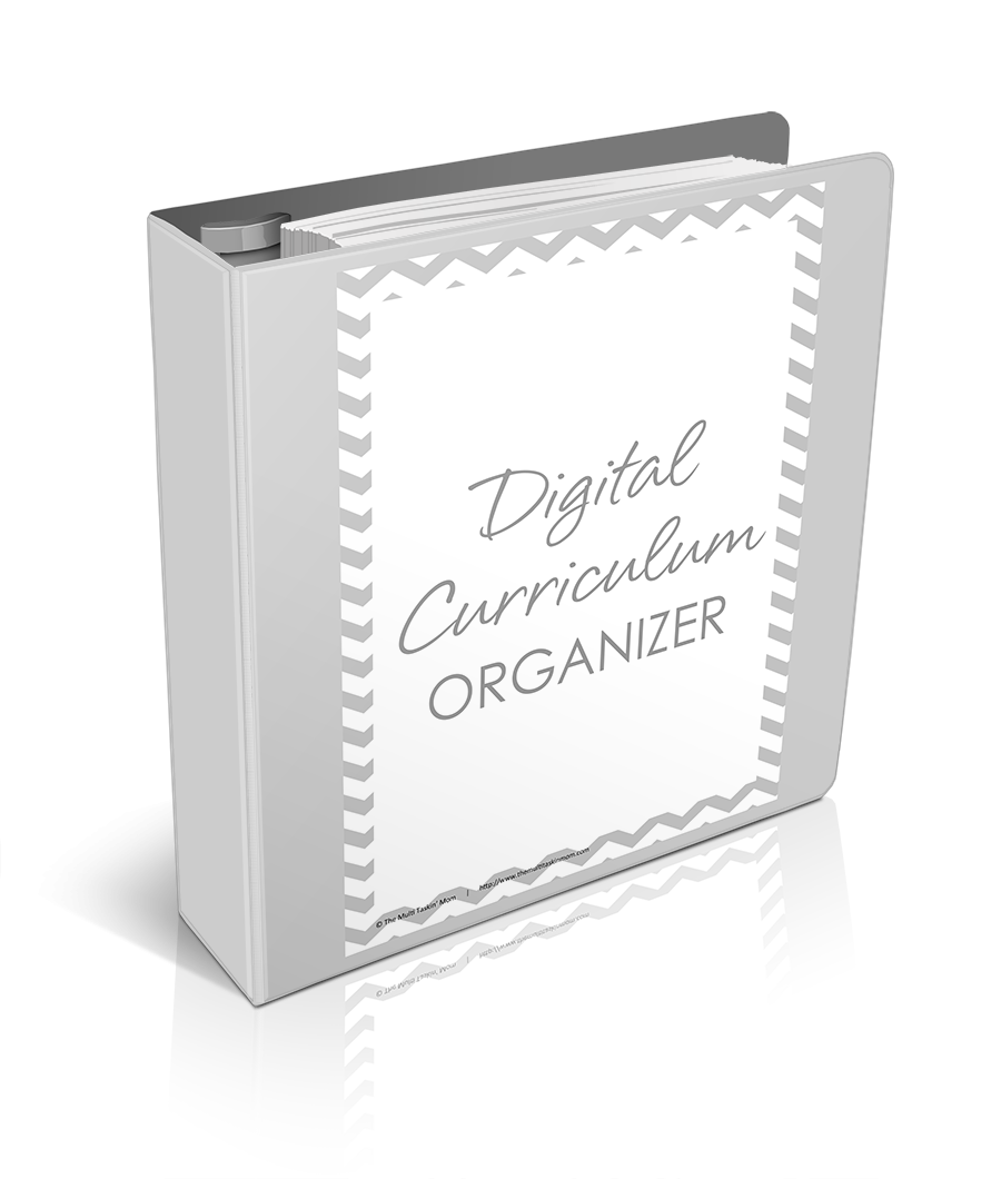 Digital Curriculum Organizer Updated