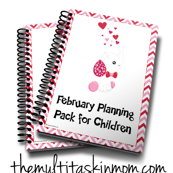 February Planning Pack 2 3d