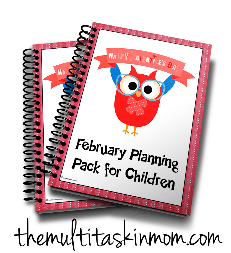 February Planning Pack 3d