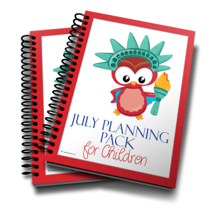 July Planning Pack Notebook