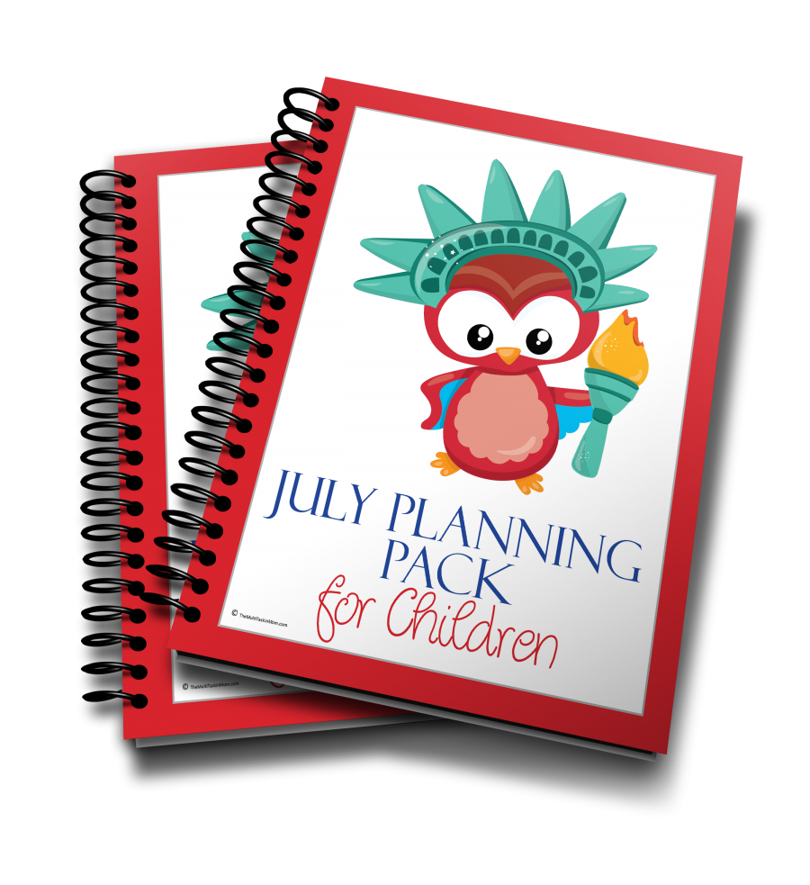 July Planning Pack for Children 2016 edition