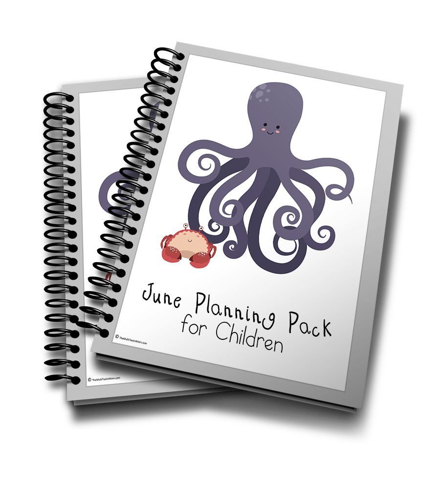 June Planning Pack for Children 3D