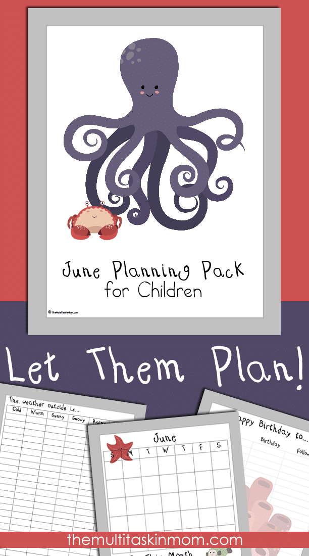 June Planning Pack for Children Updated and Ready for 2016