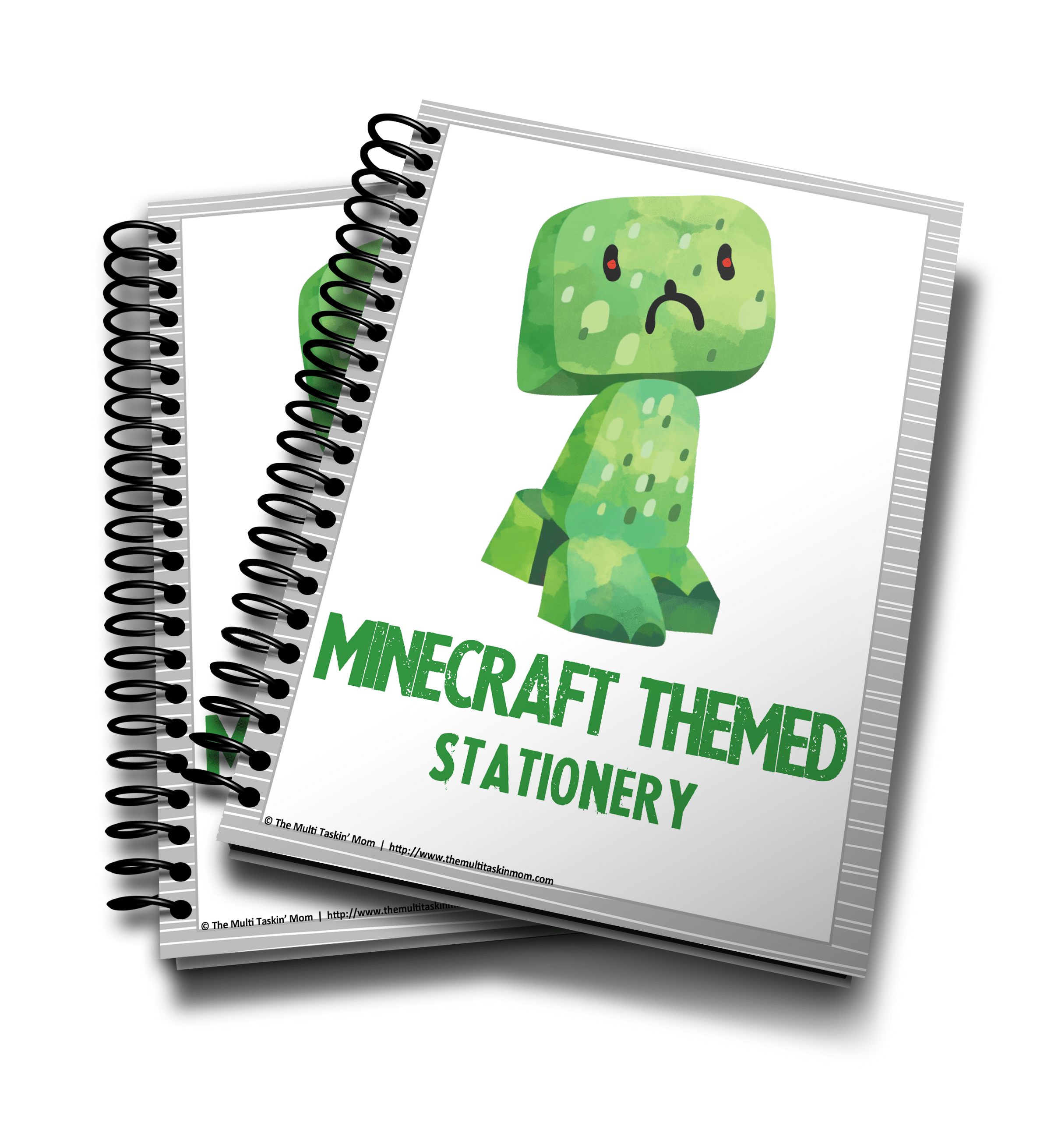 Minecraft Themed Stationery 2016