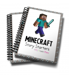 Minecraft Themed Story Starters Vol 1