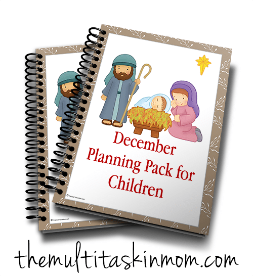 December Planning Pack for Children – Nativity Theme