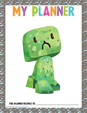 Minecraft Student Planner