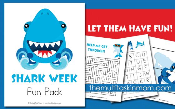 The Shark Week Fun Pack