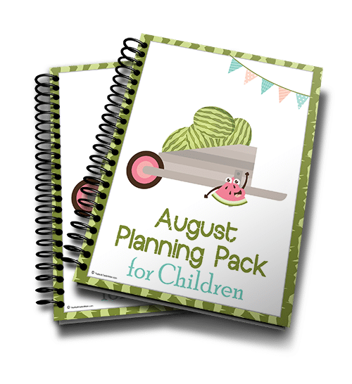 August Planning Pack 2016 3d 500
