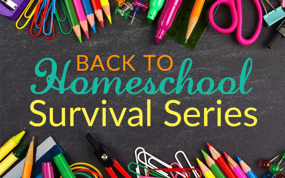 Surviving Going Back to Homeschool