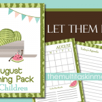 August Planning Pack for Children Updated