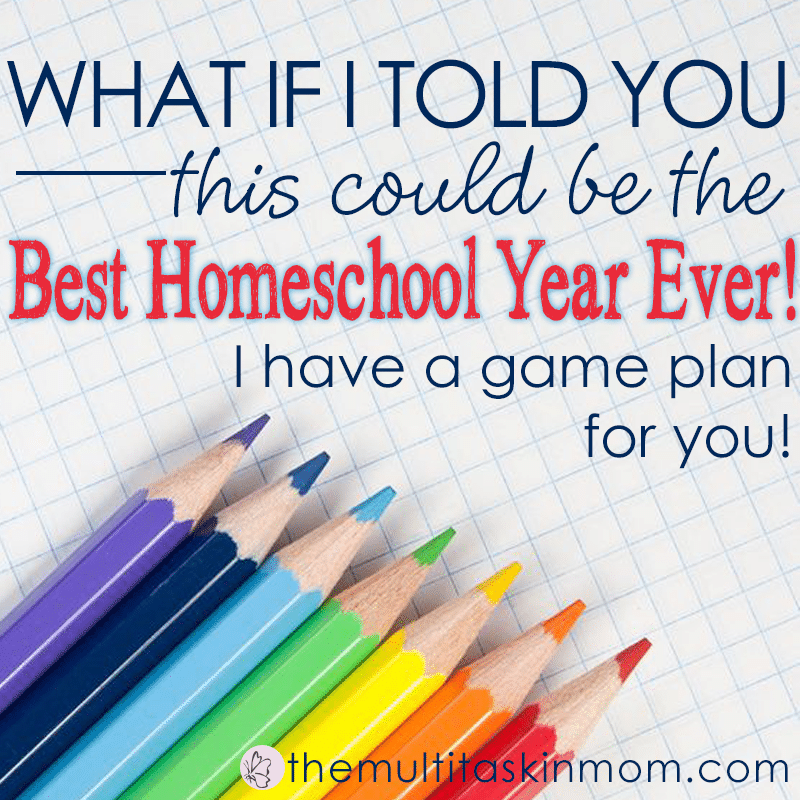 What if I told you that this could be the best homeschool year ever