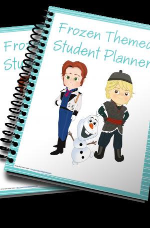 Frozen Themed Student Planner – Boys