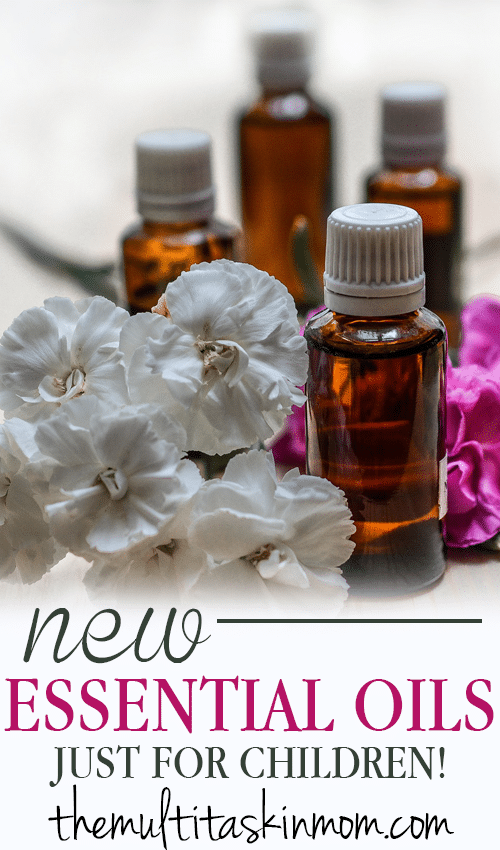 Brand New Essential Oils Just for Children