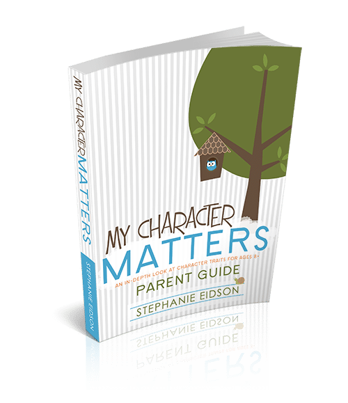 My Character Matters Parent Book