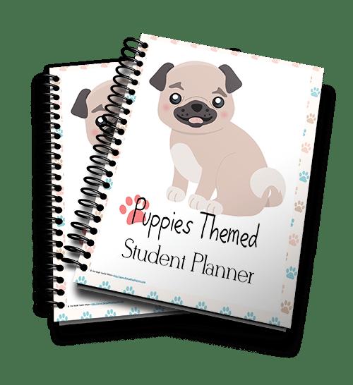 Puppies Planner 3d 500