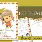 September Planning Pack for Children 2016 Edition