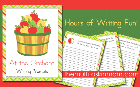 Apple Orchard Writing Prompts are great for any age and are free for a limited time