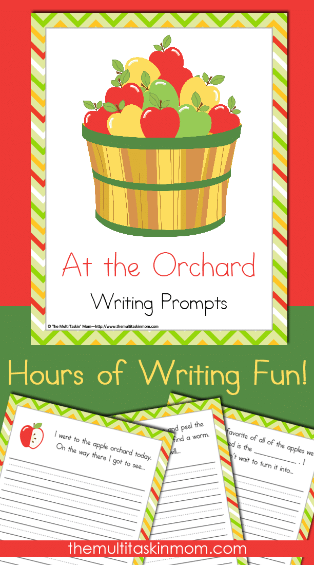 At the Orchard Writing Prompts are a lot of fun for your little learners