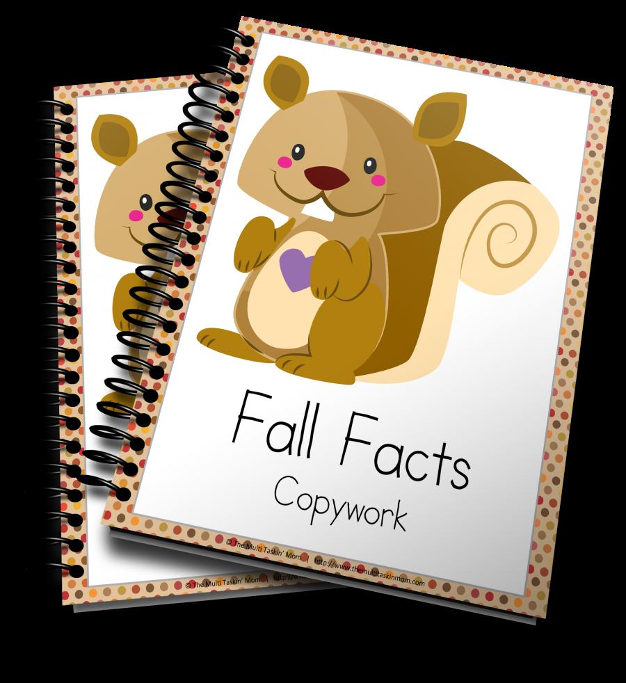 Fall Copywork