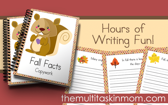 Fall Facts Copywork