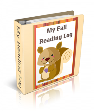 This fall themed reading log will be so much fun for your children to use as they track their reading