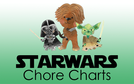 Star Wars Chore Charts Make Cleaning Fun