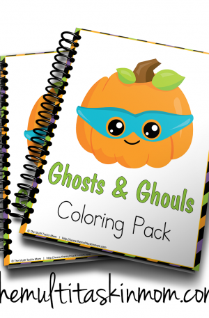 Ghost and Ghouls Coloring Pack