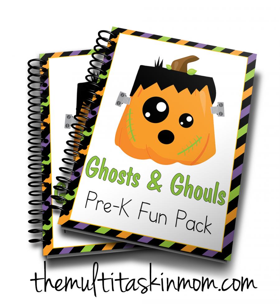 Ghosts and Ghouls PreK Fun Pack