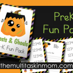 Ghosts and Ghouls PreK Fun Pack