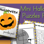 Halloween Mini Puzzles Pack