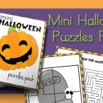 Halloween Mini Puzzles Pack