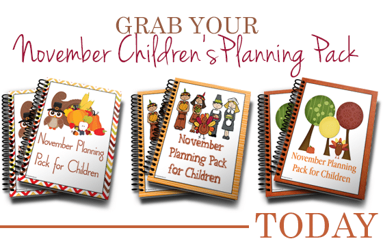 November Planning Pack Free for Limited Time
