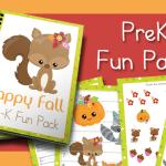 Happy Fall PreK Fun Pack