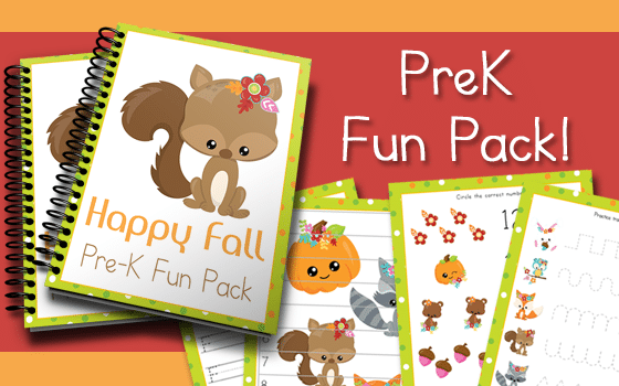 Happy Fall PreK Fun Pack