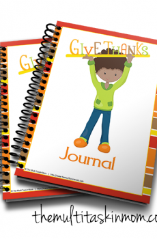 The Give Thanks Journal updated for 2016