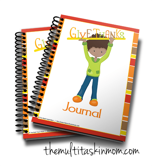 Give Thanks Journal 2016