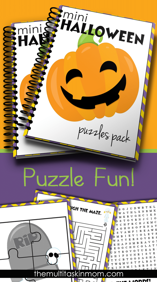 The Mini Halloween Puzzle Pack is Fun for Everyone