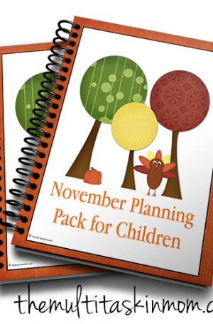 Nov Planning Pack for Children