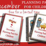 December Planning Packs Free for a Limited Time