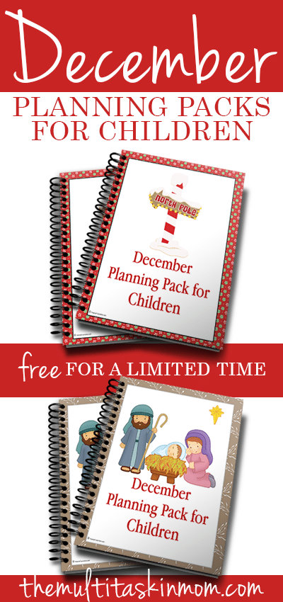 December Planning Pack Free for a Limited Time
