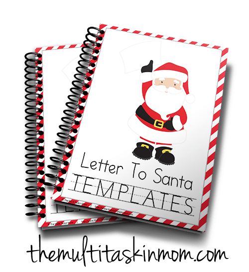 Letters to Santa templates are the easiest way to sneak in learning fun this season.