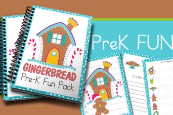 Gingerbread PreK Fun Pack