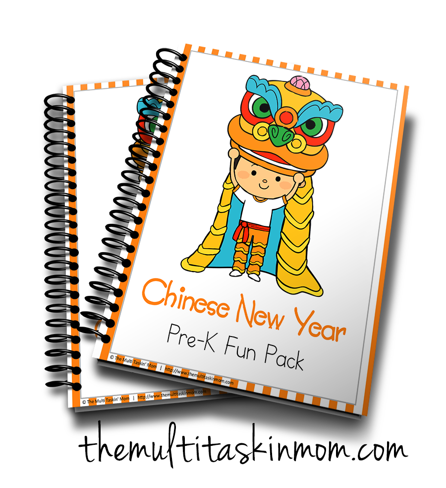 Chinese New Year PreK Fun Pack